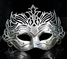 Love this silver face mask