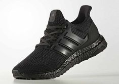 6332ed280 2018 Sale Adidas Ultra Boost 3.0 Triple Black Shoes Outlet