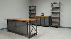 Complete Industrial Office Set Up......Carruca by IronAgeOffice