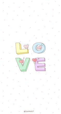 LOVE - Cute iPhone wallpaper @mobile9