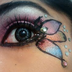 Image detail for -Eyeshadow Designs: 25 Pictures Of Crazy Cool Eye Makeup | Gurl.com on ...
