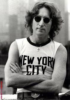 """You make think that I'm a dreamer"". :-) love John Lennon!"