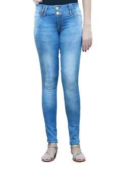 Calça Jeans Biotipo Skinny Cós Médio