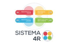 Desarrollo gráfico de la guía del sistema de calidad de pinturas 4R  para www.proteccionesypinturas.com
