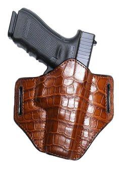 Belt holster-leather, CROCODILE V2 VIP CROC www.gunmarket.eu