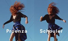 An image from Proenza Schouler's spring 2017 advertising campaign