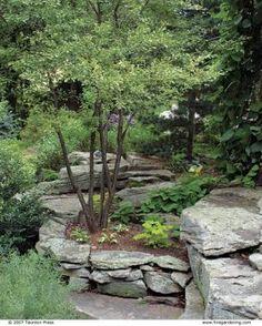A Lush Garden on the Rocks | Fine Gardening