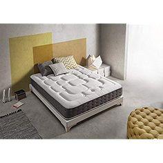 it Materasso MemoryRoyal 30 cm 11 zone Relax, Memory Foam Mattress Topper, Grad, Cool Stuff, Furniture, Home Decor, Amazon Fr, Bedding, Dark Blue Color