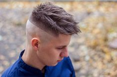 Men's Hair, Haircuts, Fade Haircuts, short, medium, long, buzzed, side part, long top, short sides, hair style, hairstyle, haircut, hair color, slick back, men's hair trends, disconnected, undercut, pompadour, quaff, shaved, hard part, high and tight, Mohawk, trends, nape shaved, hair art, comb over, faux hawk, high fade, retro, vintage, skull fade, spiky, slick, crew cut, zero fade, pomp, ivy league, bald fade, razor, spike, barber, bowl cut, 2018, hair trend 2019, men, women, girl, boy Men's Hair, Hair Art, High Skin Fade, Bowl Haircuts, High And Tight, Undercut Pompadour, Disconnected Undercut, Mens Hair Trends, Short Fringe