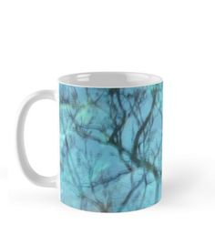 Reflect, turquoise mug  http://www.redbubble.com/people/laia-riben/works/15482752-reflect?ref=recent-owner