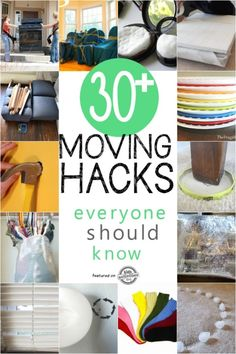 moving hacks to know