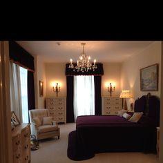Graceland. El dormitorio de los padres de Elvis. Vernon y Gladys. Tal y como hoy se conserva.