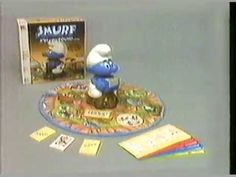 1983 Smurf Board Game Commercial