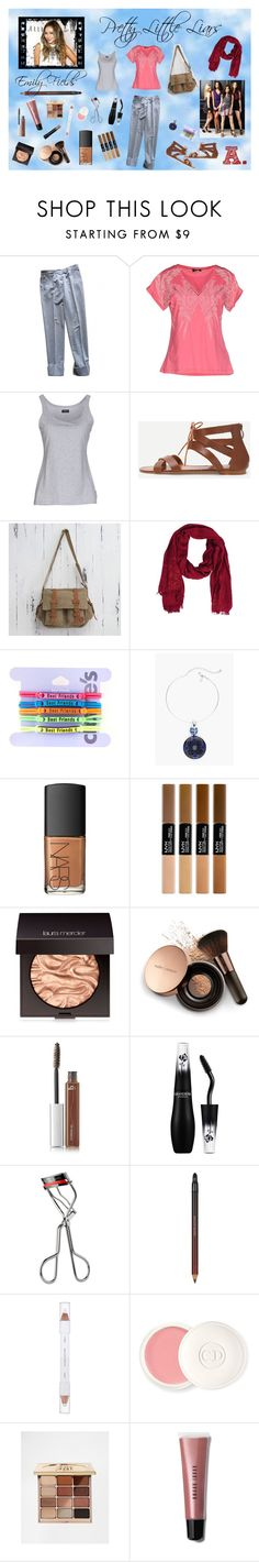 """""""Emily Fields - PLL (look alike)"""" by kimber-rose on Polyvore featuring STELLA McCARTNEY, byblos, Emporio Armani, NOVICA, Patchington, Chico's, NARS Cosmetics, Laura Mercier, Nude by Nature and B The Eyebrow Experts"""