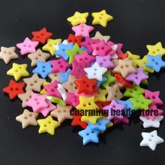 Mixed Star Resin Sewing Buttons for Scrapbooking craft Fashion Accessories 100pcs 12mm YKL0062x #>=#>=#>=#>=#> Click on the pin to check out discount price, color, size, shipping, etc. Save and like it!