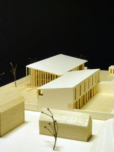 Polystyrene factory in Debrecen, Hungary, Model scale is: 1:200 #godel #architect #architecture #archmodel #model #building #factory #debrecen #hungary