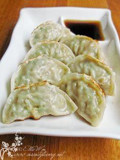 Korean Dumpling (Mandu) (Kitchen Wench Blog)