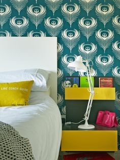 The decorating experts at HGTV.com share tips for using sunny yellow hues in your bedroom.