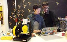 En Barcelona puedes tomarte un café mientras imprimes en 3D
