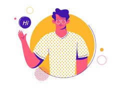 Saved onto Concepts & Illustrations Collection in Illustration Category Flat Design Illustration, Simple Illustration, Digital Illustration, Graphic Illustration, Illustration Styles, Motion Design, Startup, Illustrations And Posters, Design Thinking
