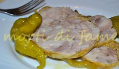 Rotolo di pollo ai peperoncini sottaceto, ricetta light