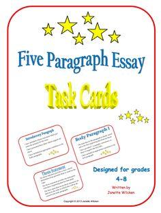 5 essay paragraph write
