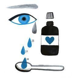 I am blue and unwell / mariainesgul