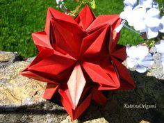 Kusudama Me! - Modular Origami Rafaelita unit