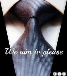 I Aim To Please...