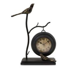 View the IMAX Home 16159 Bird and Branch with Hanging Clock at Build.com.