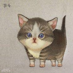 100 Kittens. #1 on Behance