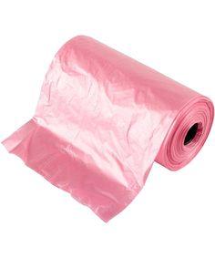 Pink Garbage Bags