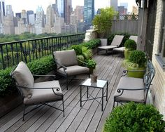 outdoor balcony Small Balcony Design, Pictures, Remodel, Decor and Ideas - page 10 Modern Balcony, Small Balcony Garden, Small Terrace, Outdoor Balcony, Outdoor Spaces, Outdoor Living, Rooftop Patio, Narrow Balcony, Outdoor Seating