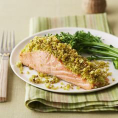 Couscous-Crusted Salmon