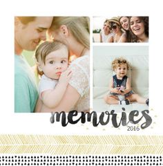 Mixbook Hand Painted Patterns Family Photo Books