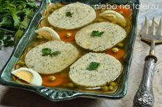 Ryba faszerowana wgalarecie Polish Recipes, Polish Food, Fish And Seafood, Food To Make, Side Dishes, Chicken, Baking, Blog, Holidays