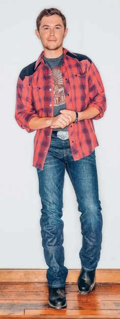 Scotty McCreery i love his song Something More! It's so gooodd. Hot Country Boys, Best Country Music, Country Music Stars, Country Music Singers, Bro Country, Country Artists, Cheap Mens Fashion, Country Fashion, Country Outfits