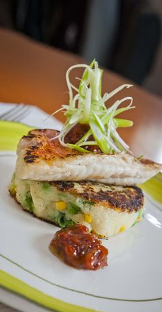 Red Mullet on Bubble and Squeak - Traditionally made with leftovers, the addition of some superb fish really lifts this recipe to new heights - http://www.fishisthedish.co.uk/recipes/main-meals/1426-red-mullet-on-bubble-and-squeak