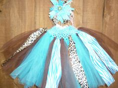 Baby girl Tutu Skirt Blue Turquoise and by Dreambygirlboutique, $21.99