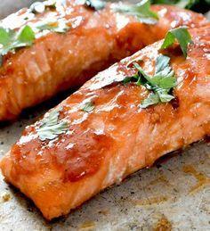 Sous Vide Cranberry Sauce-BBQ Salmon