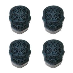 Day of the Dead Sugar Skull Black Soaps