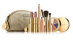Coach Make-Up Bag and Estee Lauder Beauty