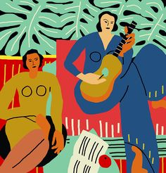 Learn all about this Swedish artist with a love of Matisse.