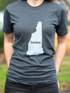 The Home. T - New Hampshire Home T, $25.00 (http://www.thehomet.com/new-hampshire-home-t-shirt/)