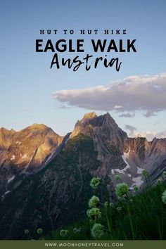 The Adlerweg (Eagle Walk) is a hut-to-hut hiking trail that traverses the Austrian State of Tirol in 33 stages, from East to West.  This Eagle Walk hiking guide outlines the final 6 stages of the Eagle Walk across the Lechtal Alps.   Find out how to get to the trailhead, where to stay, where to end the trek. Map included.  #eaglewalk #adlerweg #lechtalalps #lechtaleralpen #austrianalps #austria #visitaustria #tirol #tyrol #hikingaustria #alps #alpsinsummer #trekking #huttohuthiking Hiking Places, Best Places To Travel, Hiking Trails, Cool Places To Visit, Hiking Europe, Europe Travel Tips, European Travel, Travel Guides, Hiking Guide