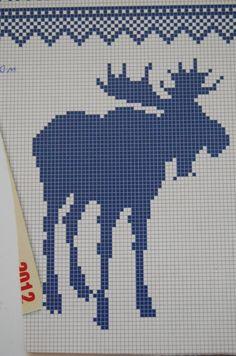 best ideas about Pixel Crochet Fair Isle Knitting Patterns, Knitting Charts, Knitting Stitches, Crochet Chart, Filet Crochet, Cross Stitch Charts, Cross Stitch Patterns, Cross Stitching, Cross Stitch Embroidery