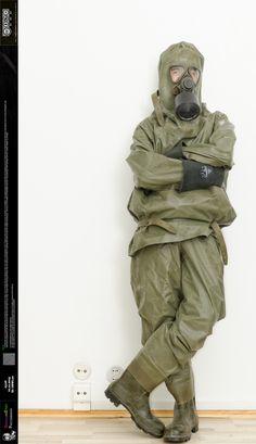 OrwellianStuff's Profile Picture Hazmat Suit, Id Photo, Diving Suit, Heavy Rubber, Rain Gear, Military Jacket, Zodiac, Gas Masks, Army