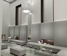 Hotel Hopes, Madrid. Infoarquitecturas 3D para Elvira Blanco Montenegro - Interior Design Montenegro, Interiores Design, Madrid, Divider, Bathtub, 3d, Bathroom, Furniture, Home Decor