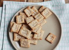 Recipe : Homemade Cheese Crackers