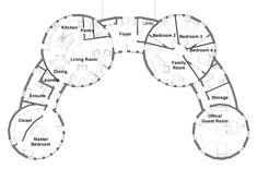 Mandala Homes Blueprint Round Home Floor Plans